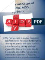 The Origin and Scope of the Global AIDS