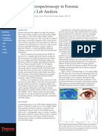 FT-IR Microspectroscopy in Forensic