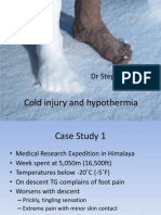 Cold Injury and Hypothermia