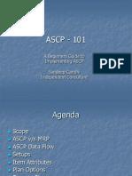 ASCP - 101 - Sandeep Gandhi