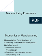 Class28 Manufacturing Economics