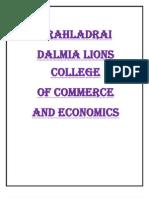 Prahladrai Dalmia Lions College of Commerce and Economics