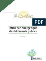 Efficience énergétique des bâtiments