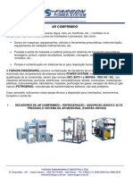 QUALIFICAÇÃO DO AR COMPRIMIDO - FARGON POWER SYSTEM