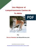 Cómo Mejorar el Comportamiento Canino de tu Akita