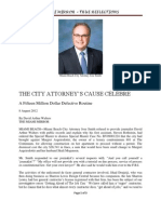 Miami Beach City Attorney' Jose Smith's Cause Celebre