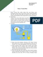 Rotary Vacuum Filter