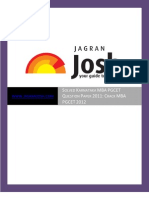 Solved Karnataka Mba Pgcet Question Paper 2011 Crack Mba Pgcet 2012