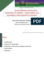JohnJRomero-SoftwareComercialVsDesarrollo