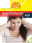 Cellecta Sound Proofing Solutions Guide