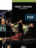 Ferst Center Presents 2012-13 Season Brochure