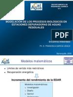 Modelación de procesos biológicos en PTAR