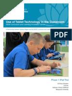 iPad Evaluation Sydney Region