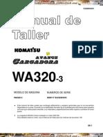 Manual Taller Cargador Frontal Wa 320 3 Komatsu