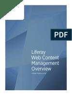 Liferay Web Content Management Overview