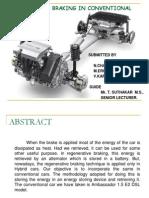 Regenerative Braking in Conventional Cars1