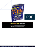 2012 Write Better eBook