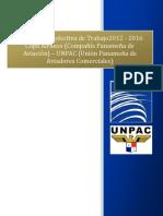 Convención Colectiva UNPAC-COPA2012-2016