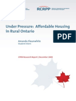 Affordable Housing Rural Ontario