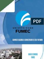 Catlogo de Cursos Universidade FUMEC