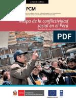 Mapa de La Conflictividad Social en El Peru