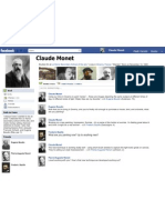 facebook monet template