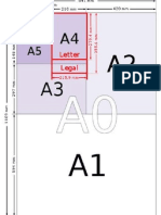 A Series Paper Sizes 1