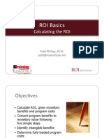 Calculating ROI
