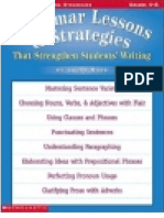 Grammar Lessons & Lessons That Strengthen Students Writing