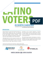 Snapshot of Latino Voters in Nc
