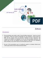 Analyst Presentation 100212