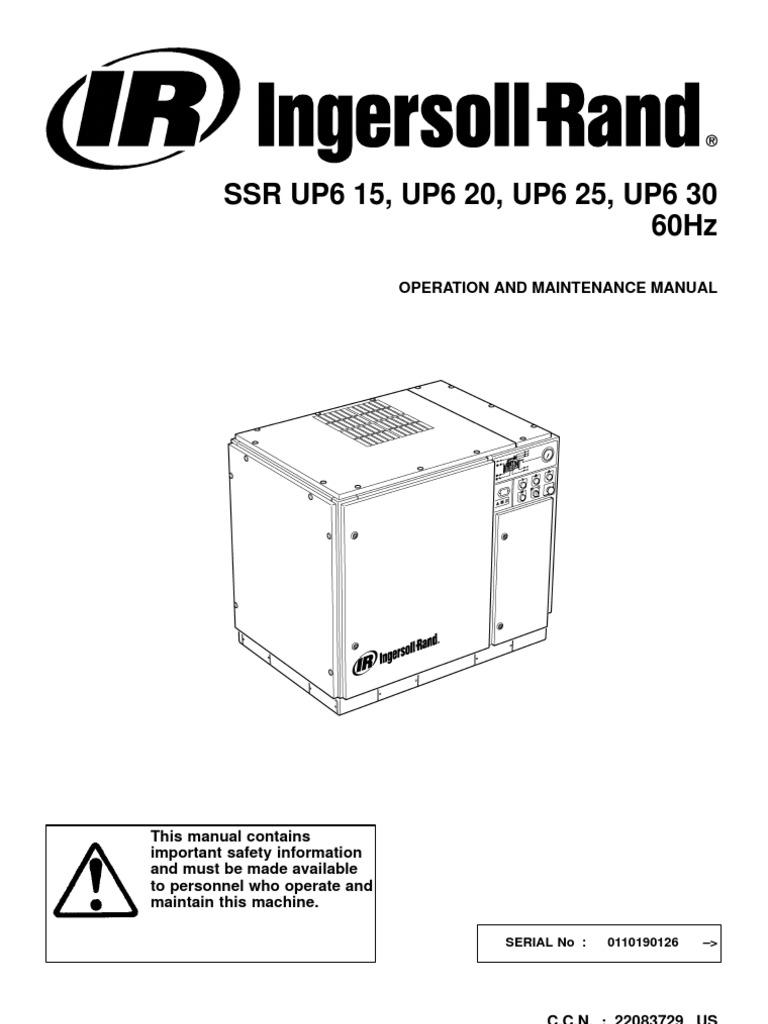 2 manual de operacion gas compressor valve rh scribd com Ingersoll Rand 2475 Parts Manual Ingersoll Rand 175 Service Manuals