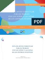 Guia de Apoyo Curricular Para El Trabajo Con Ninos y Ninas de Los Centros Infantiles