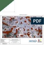 Mapa de Topos de Morro - Teófilo Otoni / MG