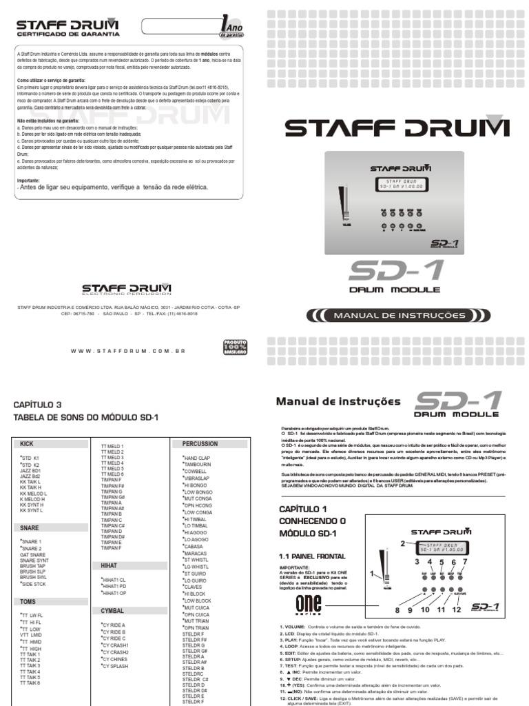 Manual Sd1 Ok