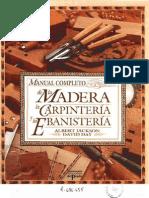(eBook - PDF) - Manual Completo de La Madera, La Carpinteria y La Ebanisteria - Albert Jackson y David Day