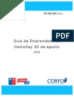 Participantes Del Demo Day de Start-Up Chile
