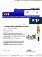 Local Advocacy Group Helps Fix Up School - WAFF-TV_ News, Weather and Sports for Huntsville, AL