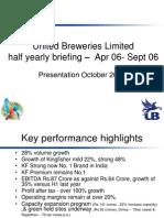 Investors Presentation 26, Oct 06