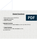 Oracle Functions