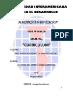 Curriculum Final Rocio