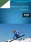 SAVREMENA SKIJAЉKA OPREMA-prezentacija1