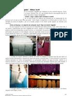 Mantas de Ezcaray. Fábrica textil _Hijos de Cecilio Välgañón_.