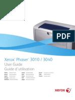 Manual Usuario Xerox Phaser 3010 - 3040