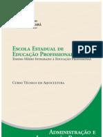 Aquicultura Administracao e Legislacao Pesqueira
