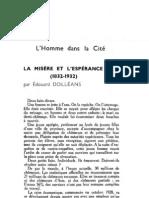 Esprit 3 - 193212 - Dolléans, Édouard - La Misère et l'Espérance