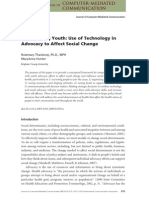Empowering Youth - Technology in Advocacy to Affect Social Change