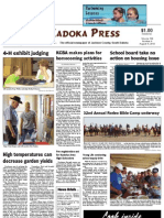 Kadoka Press, Thursday, August 9, 2012