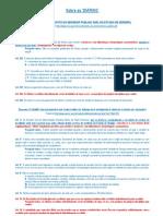 Sobre as DIÁRIAS (legislação sergipana)