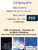 CHM116 Lecture 2- Student Slides